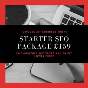 Starter SEO Package £159